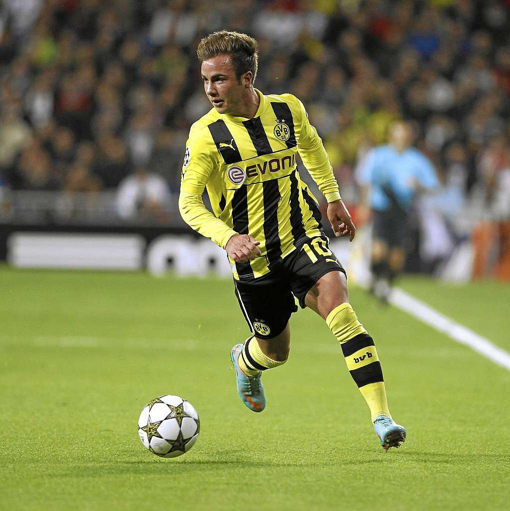 "Götze ""Messi No I want to be the German Cristiano Ronaldo"