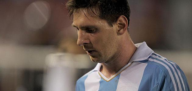 A Messi le falta un poquito más de corazón, de sangre