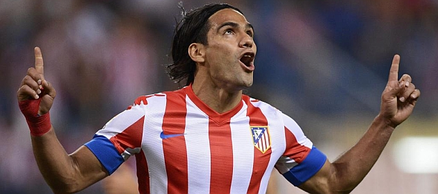 Falcao, just a step away from United