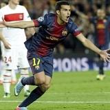 Pedro: 'Hay que darle las gracias a Messi, desde que ha entrado el equipo ha dado un vuelco'