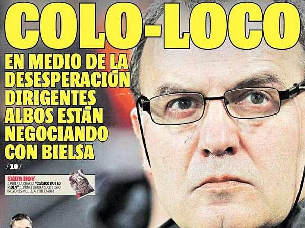 Colo Colo, ¿próximo destino de Bielsa? - MARCA.com