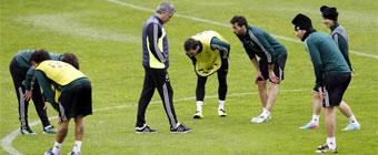 Higuaín no se entrenó y Benzema puede ser el '9'