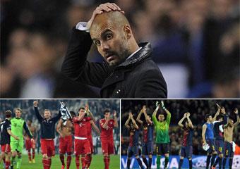 La semifinal de los dos equipos de Guardiola