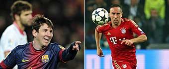 ¿Qué equipo crees que superará la semifinal entre el Bayern y el Barcelona?