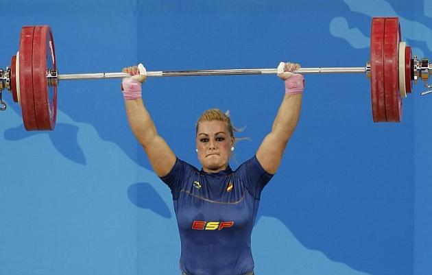 Lidia Valent�n, dos platas  y un bronce en los Campeonatos de Europa