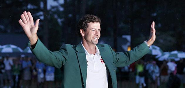 Adam Scott alcanza el podio de la lista mundial