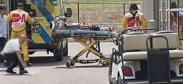 Iwema trasladado al hospital con las constantes vitales buenas