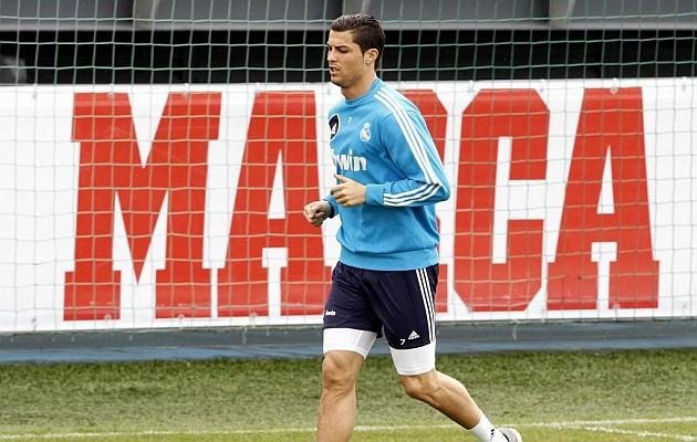 Cristiano Ronaldo on alert