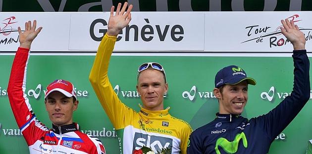 Froome gana el Tour de Romandia