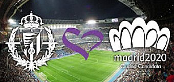 El Valladolid jugar� con una camiseta de Madrid 2020