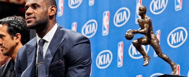 LeBron James es el MVP de la NBA para todos... excepto para uno