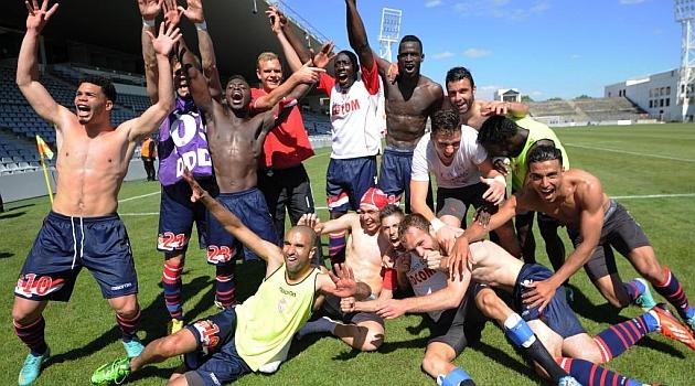 El M�naco asciende a Ligue 1