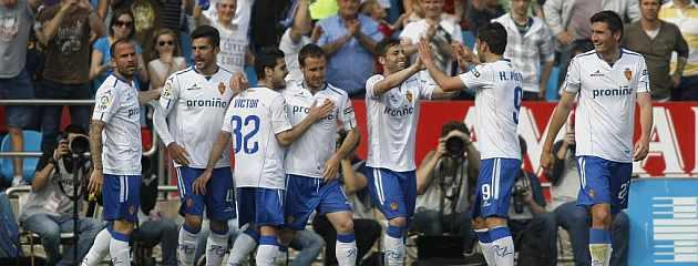 El Zaragoza quiere cantar los 40 en la Liga