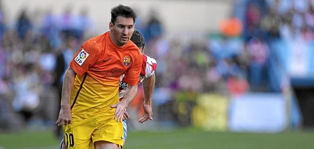 Messi y el Barça hacen doblete