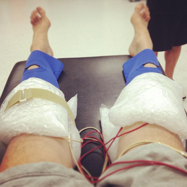 Pau Gasol muestra su rehabilitación: Hoy es el primer día que salgo de casa