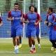 El Levante vuelve al trabajo sin Rubén, Barkero y Juanfran