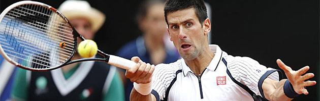 Djokovic y Federer avanzan con autoridad en Roma