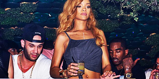 Rihanna acusa a J.R. Smith de salir todos los días de fiesta durante los 'playoffs'