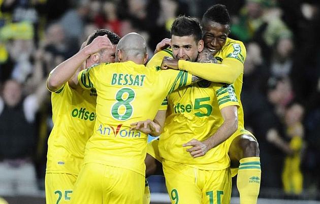 Nantes y Guingamp se aseguran el ascenso a Primera