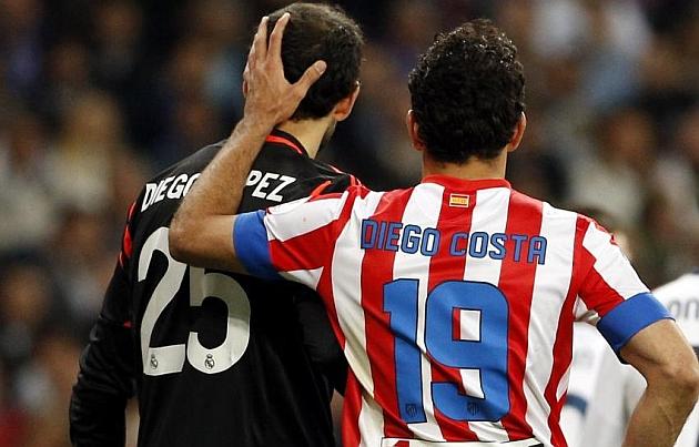Diego Costa marc� y se convierte en el m�ximo goleador de la Copa