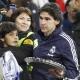 Karanka recogió el trofeo del Madrid para sorpresa del Rey