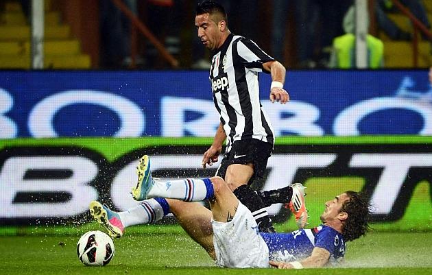 La Sampdoria rentabiliza la relajación del campeón