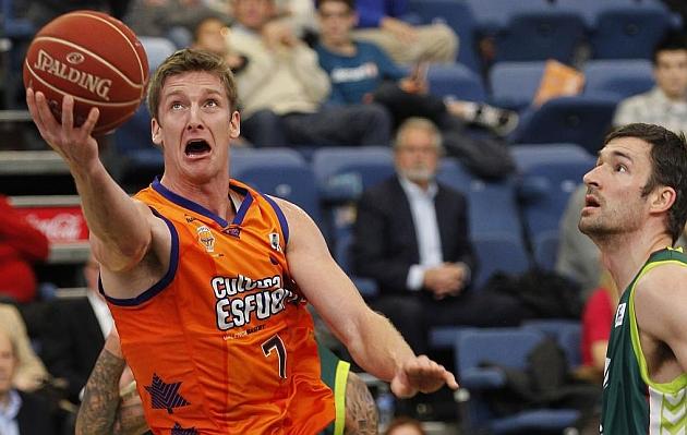 Justin Doellman (Valencia Basket), el mejor del mes de mayo