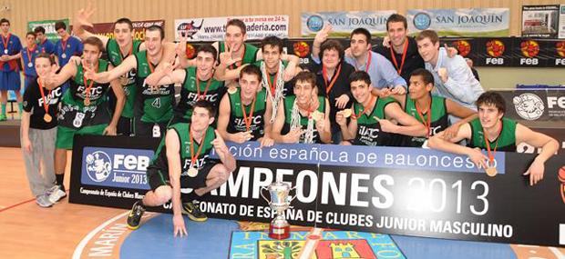 El Joventut gana el Campeonato de España junior 24 años después
