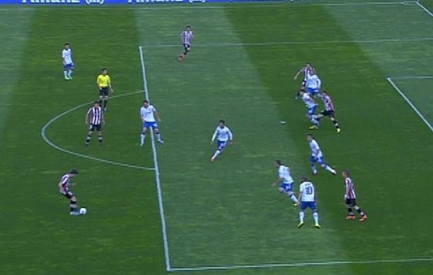 No hay fuera de juego en el gol logrado por De Marcos