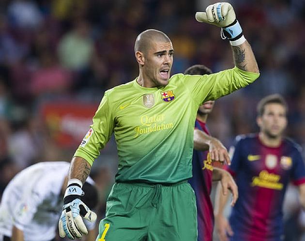 Valdés llega a los 500 partidos con el Barcelona