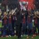 La Liga ya luce en el Camp Nou