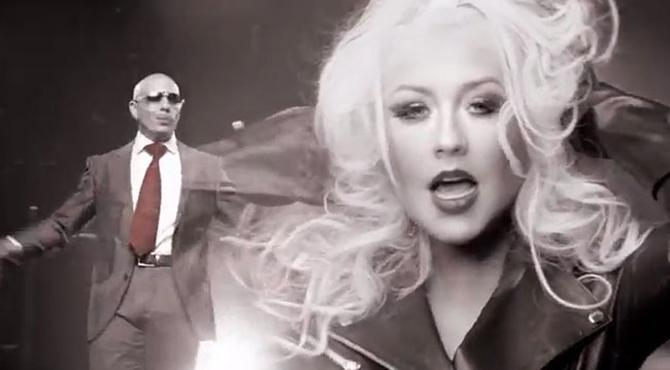 Christina Aguilera y Pitbull nos hacen sentir los playoffs
