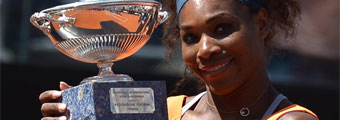 Serena Williams fulmina a Azarenka