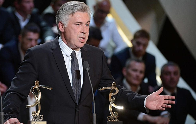 Ancelotti: I want to leave PSG