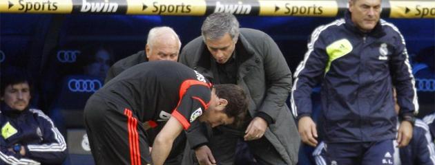 Mourinho vs Real Madrid