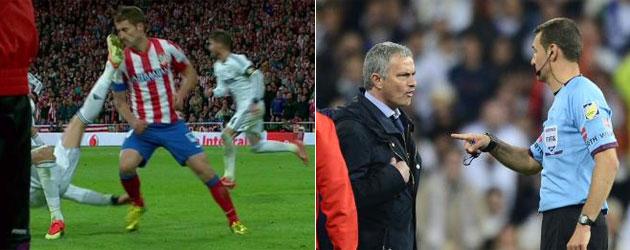Competición sanciona con un partido de Copa a Cristiano Ronaldo y dos a Mourinho