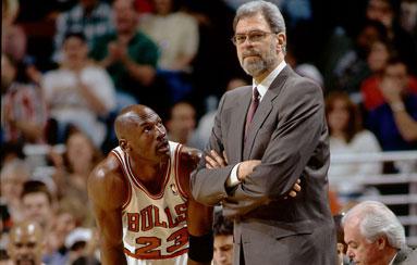 Phil Jackson no hubiera empezado de cero con Michael Jordan