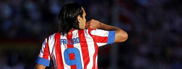 Los planes del Atlético pasan por que Falcao sea el único titular en salir