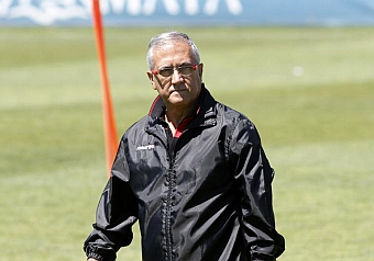 Manzano: El partido es de fiesta para el Atlético, pero solo en la grada