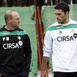 Jorge Molina y Carlos Garc�a, novedades ante el Zaragoza