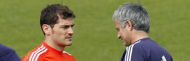 Mourinho deja a Casillas fuera de la convocatoria para Anoeta