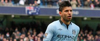 Agüero renueva con el Manchester City hasta 2017