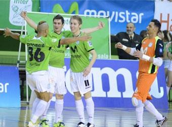 Inter Movistar, semifinalista tras una trepidante prórroga