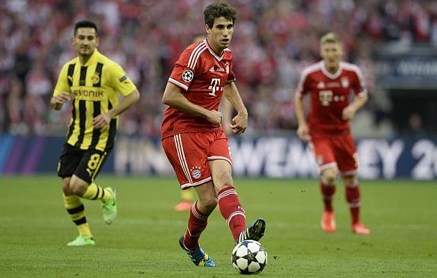 Javi Mart�nez alcanza la gloria en su primer a�o en el Bayern