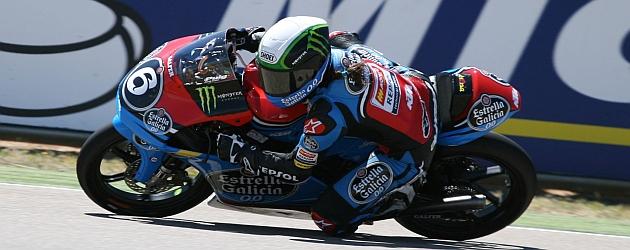 María Herrera saldrá tercera en Moto3