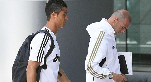 Zidane tasked with Cristiano charm offensive