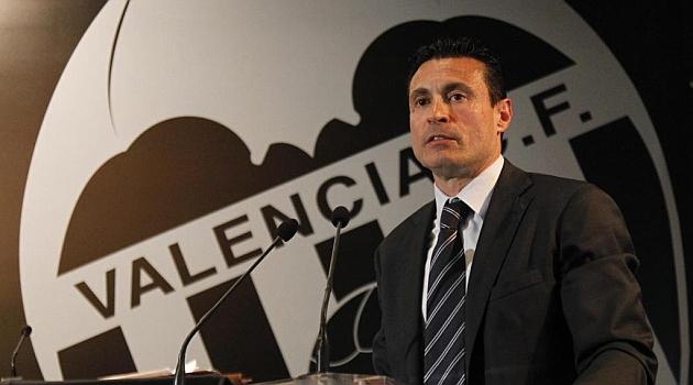 Los accionistas del Valencia eligen a Salvo como presidente