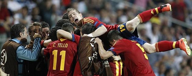 España hunde a Alemania
