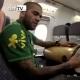 Alves y Dante ponen la m�sica en el avi�n de Brasil