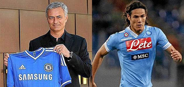El Chelsea presenta hoy a Mou... ¿con Cavani como regalo?